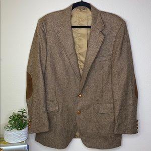 Vintage Levi's 100% Wool Men's Sport Coat Jacket